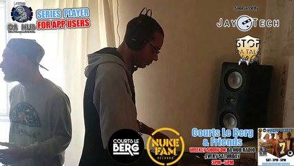 Episode 186 Courts Le Berg & Friends  (Underground House)