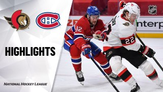 Montreal Canadiens vs. Ottawa Senators - Game Highlights