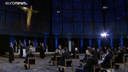 La Germania ricorda le sue 80 mila vittime di Covid-19