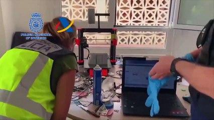 Tenerife, smantellato un laboratorio che fabbricava armi con stampa 3d