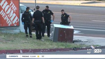 Attempted ATM burglary in NE Bakersfield