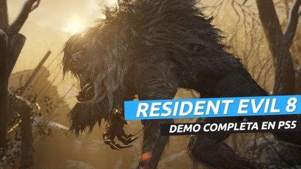 Resident Evil 8 Village Demo completa en PS5 en español