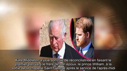 ✅ Harry également pris à part par Charles, après l'intervention de Kate Middleton