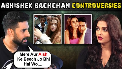Abhishek Bachchan ANGRY On Media For Calling Aish, Link - Up With Rani, Trolled For Big B | All Controversies