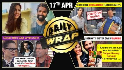 Kangana Supports Kartik, Kangana On Ramzan, Katrina - Vicky Test Negative | Top 10 News