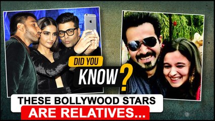 Kareena- Shweta Bachchan, Sonam- Ranveer | Top Stars Who Are Related To Each Other | Did You Know ?