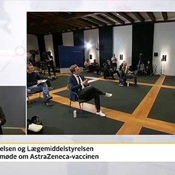 Tanja Erichsen besvimede under pressemøde for åben skærm | COVID-19 | 14 April 2021 | TV2 Play - TV2 Danmark