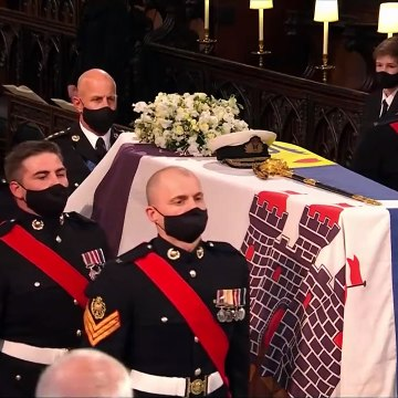 The Duke of Edinburgh Laid to Rest in Touching Funeral Service Inside St George's Chapel