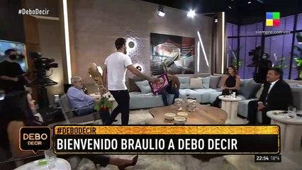 Braulio sorprendió a Luis Novaresio en Debo Decir