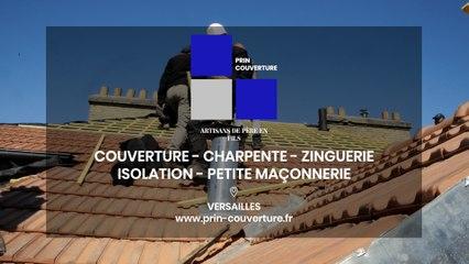 Prin Couverture, couverture, charpente, zinguerie et isolation à Versailles.