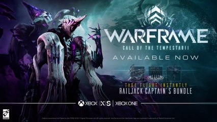 Warframe - Call of the Tempestarii - Available Now XBOX