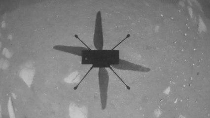 Ingenuity : l'hélicoptère de la Nasa réussit son premier vol sur Mars