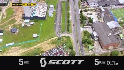 Vuelta a Colombia: Revive los últimos 5 km de la etapa 3.