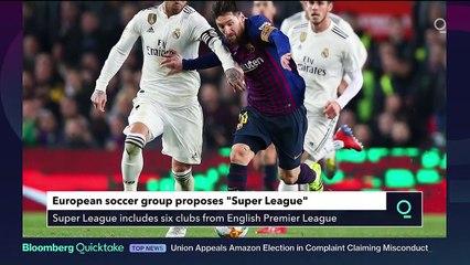JPMorgan Backs Europe's Super Soccer League With $4.8 Billion