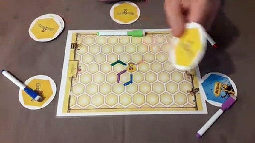 Règles du jeu BeeRush