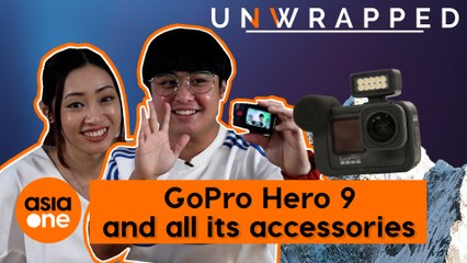 Unwrapped: GoPro Hero 9 and all its accessories