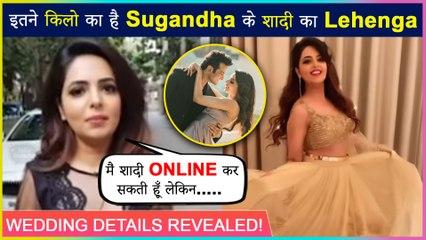 Sugandha Mishra Is Excited To Wear Bridal Lehenga, Reveals Wedding Detail