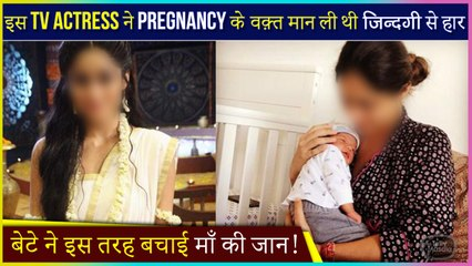 This Tv Actress Wanted To End Her Life When She Was Pregnant