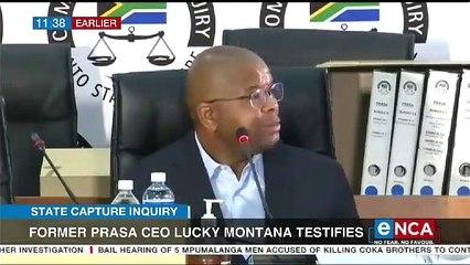 Former Prasa CEO montana testifies at Zondo Commission