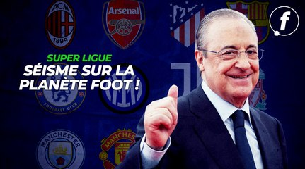 Super Ligue, séisme sur la planète football !