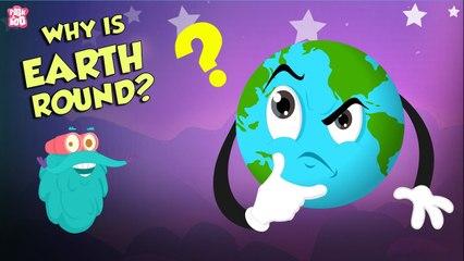 Why Is Earth Round?   Earth Week Special   Planet EARTH   Dr Binocs Show   Peekaboo Kidz