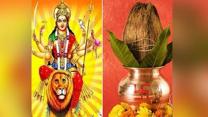 Chaitra Navratri 2021 : नवरात्रि पूजा के बाद कलश के नारियल का क्या करें, जाने यहां । Boldsky