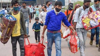 Lockdown in Delhi: Migrants leaving the city, doubts govt