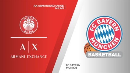 EuroLeague 2020-21 Highlights Playoffs Game 1 video: Milan 79-78 Bayern