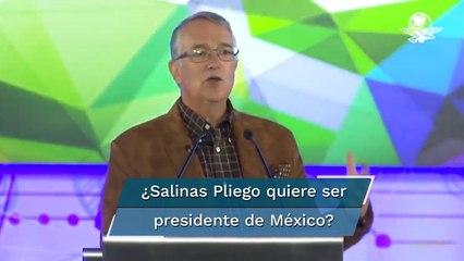 Ricardo Salinas Pliego: No tengo intención en participar en política