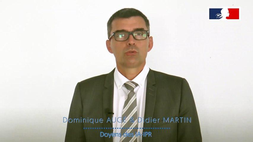 Capsule Accompagner Les Eleves Au Plus Pres De Leurs Besoins - D.Auge Et D.Martin