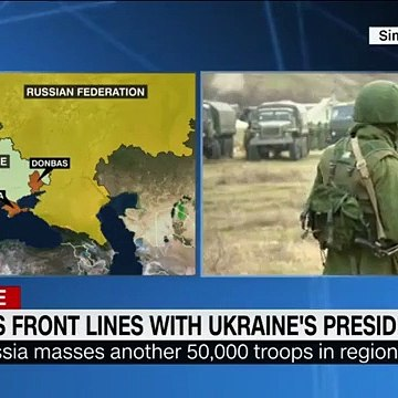 Unprecedented Footage Shows Front Line Of Ukrainian Conflict
