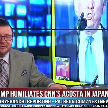 Trump Humiliates Cnn'S Acosta In Japan, Audience Erupts In Laughter