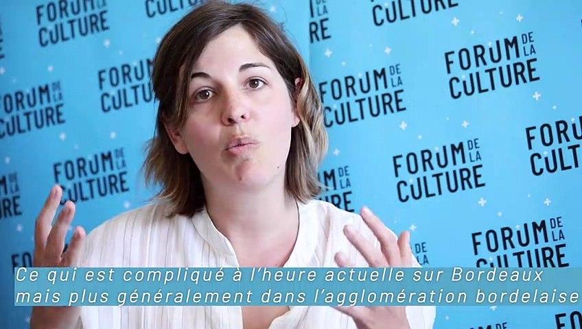 Forum de la culture : Marine Charpentier