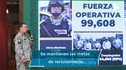 Guardia Nacional requiere cuadros de mando: Rodríguez Bucio
