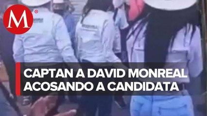 David Monreal, candidato de Zacatecas realiza tocamientos a mujer en campaña