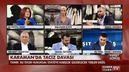 Derya Yanık'ın İsmail Saymaz ile 'Karaman'daki çocuklara cinsel istismar' olayına dair tartışması ortaya çıktı