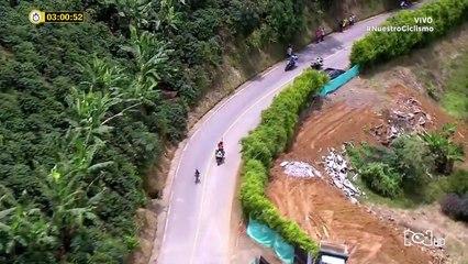 Vuelta a Colombia: Revive los últimos 5 km de la etapa 5