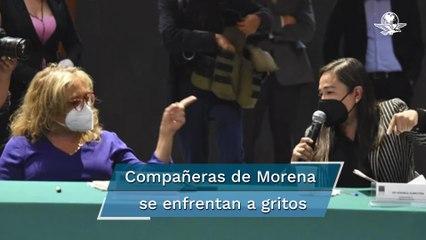 """""""Enloqueces"""" grita diputada de Morena a su compañera al frenar Ley de la FGR"""