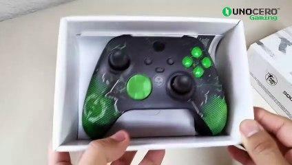 Unboxing control de Xbox Series edición Outriders
