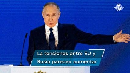 """Que nadie se atreva a cruzar la línea roja con Rusia"", advierte Putin"