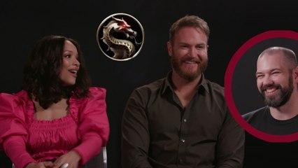 Mortal Kombat: Mileena & Kano Interview - Sisi Stringer and Josh Lawson
