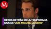 """Entrevista al elenco de """"Luis Miguel: la serie""""   M2, con Susana Moscatel"""