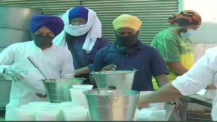 Noida gurudwara providing foods to covid patients