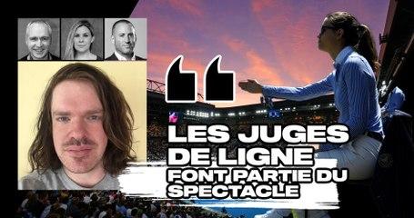 """Match Points #26 (extrait) : """"Les juges de ligne ne doivent pas être remplacés par le Hawk-Eye Live, ils font partie du spectacle"""""""