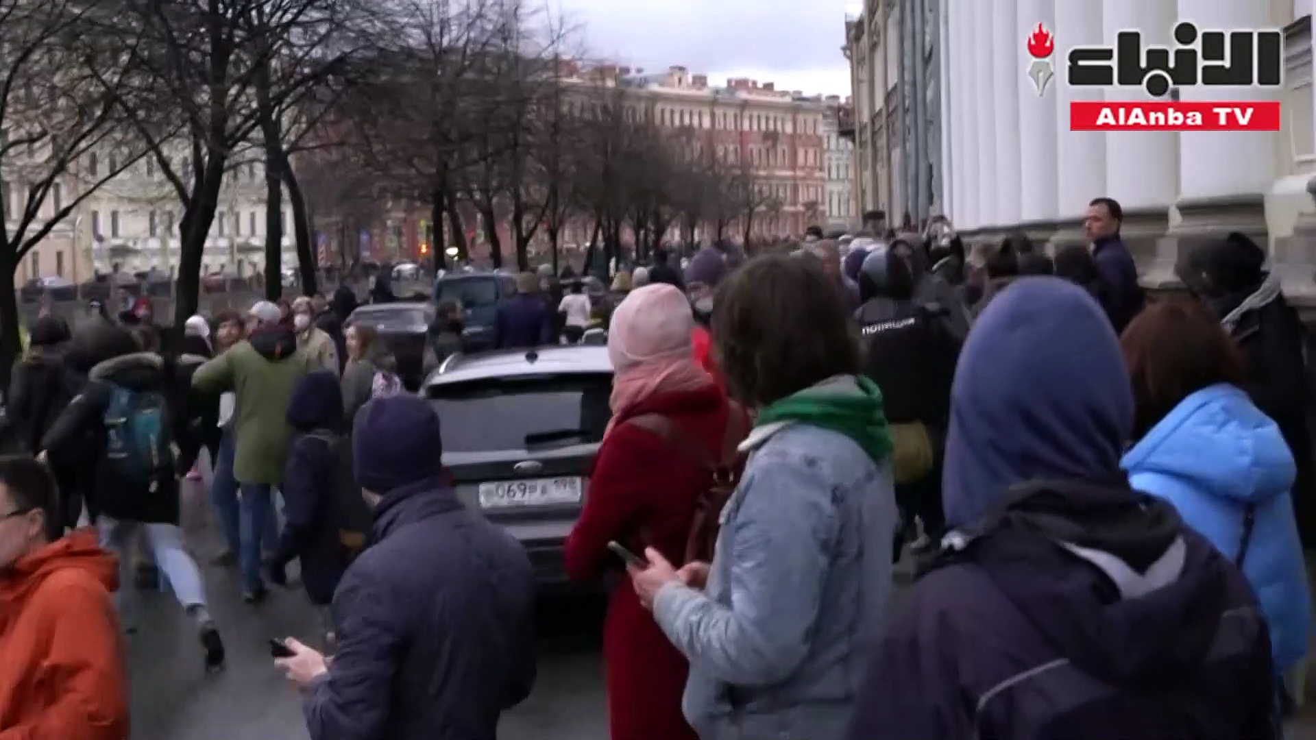 توقيف حوالى 1800 شخص خلال التظاهرات المؤيدة للمعارض أليكسي نافالني في روسيا