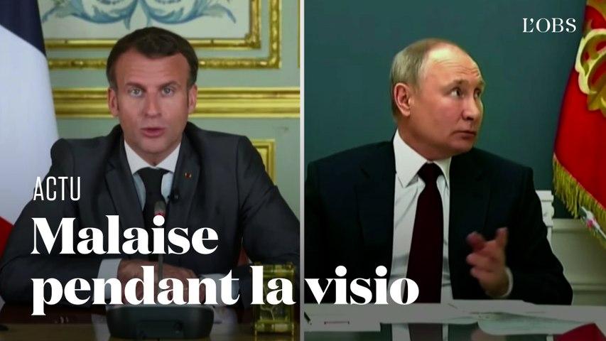 Macron se fait couper le micro au profit de Poutine lors du sommet sur le climat organisé par Biden