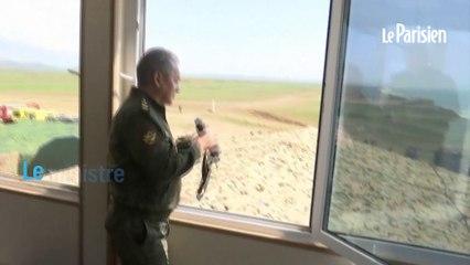 La Russie publie des images de ses manoeuvres militaires en Crimée