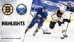 Bruins @ Sabres 4/22/21 | NHL Highlights