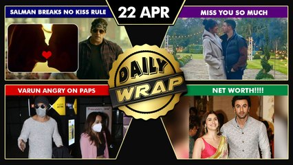 Salman KISS Scene In Radhe Trailer, Varun ANGRY On Media & A User, Priyanka Misses Nick |Top 10 News