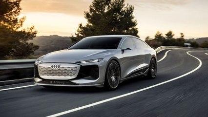 E-volution: Audi A6 e-tron concept